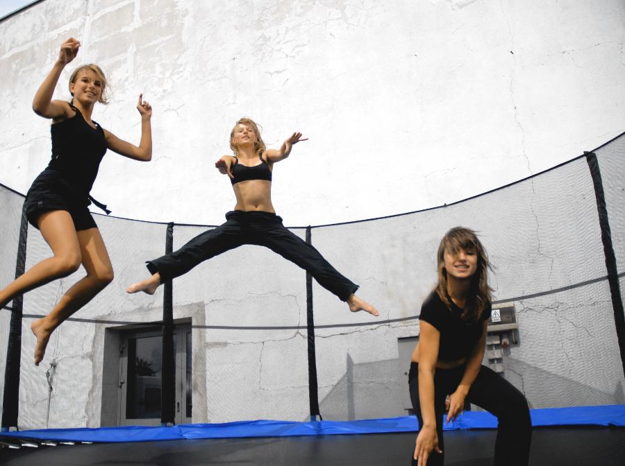 Ogromny Ćwiczenia na trampolinie dla dorosłych ZZ99