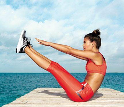 Podejmij wyzwanie - smukła sylwetka do wakacji Ćwiczenia, smukła