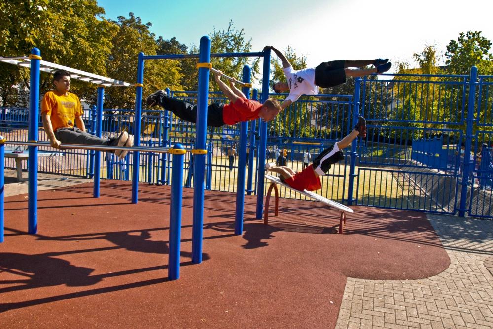 Street workout - Barras de ejercicio para casa ...